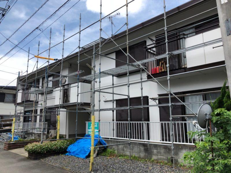 埼玉県草加市M様所有建物 共同住宅(アパート) 2階建て 施工後(After)の画像